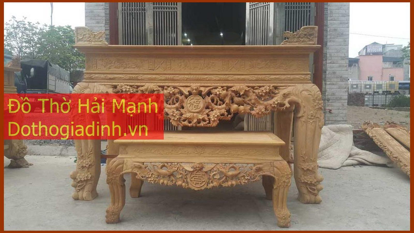 sập thờ , bàn thờ gỗ gụ