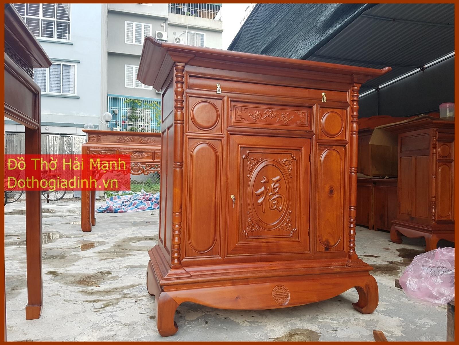 tủ thờ kích thước 127x61 cao 127