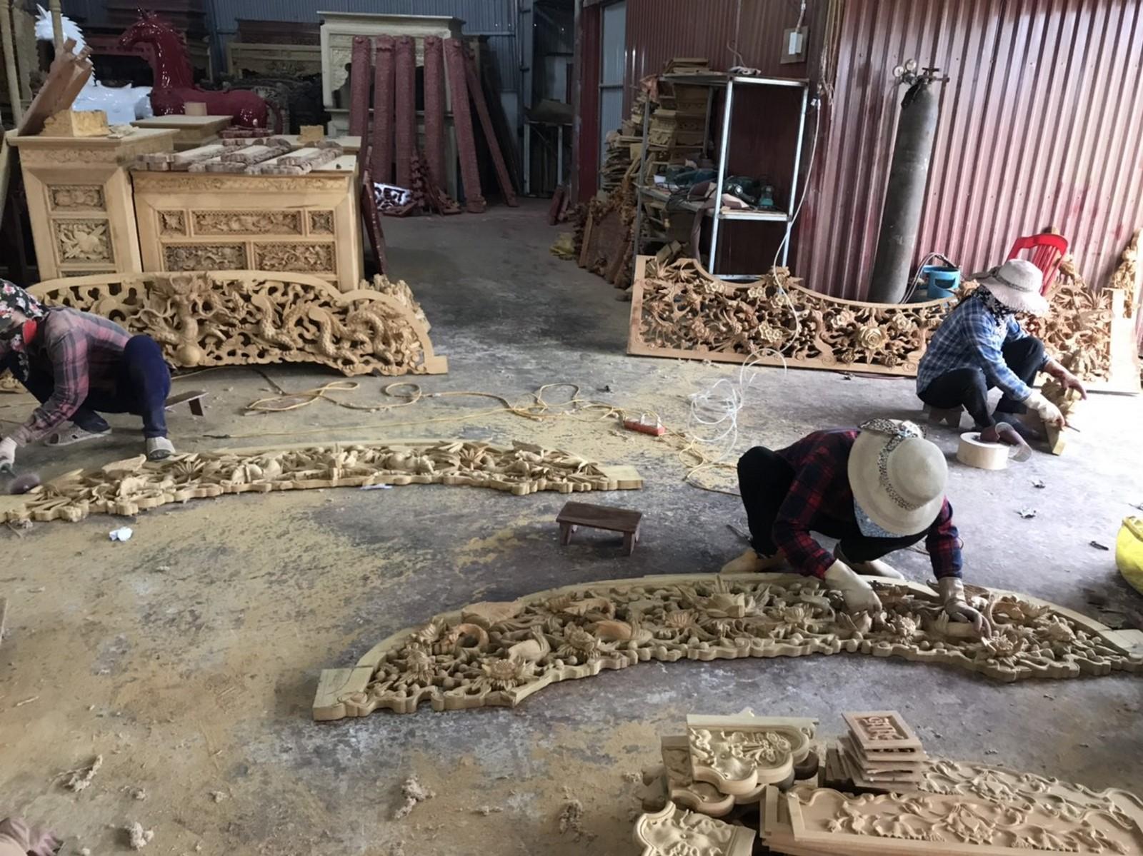 Cửa võng đẹp gỗ mít dổi giá tốt 2020
