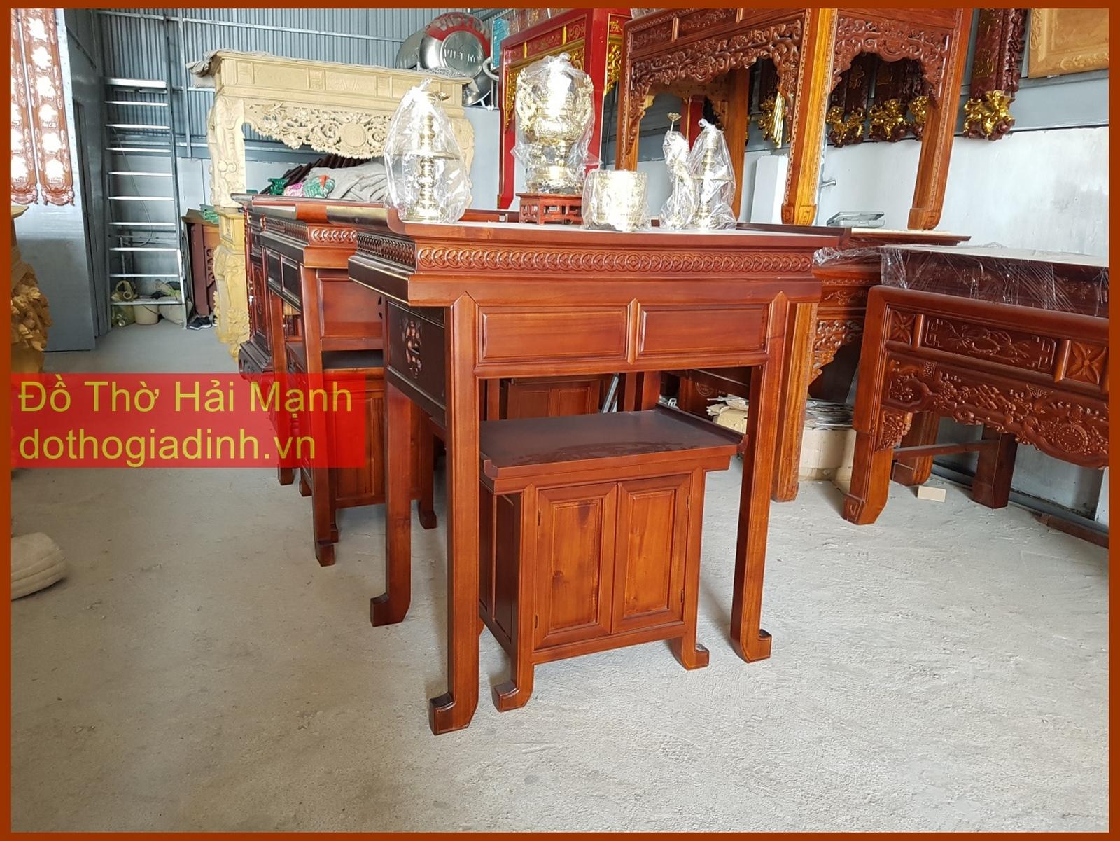 Bộ bàn thờ gia tiên nhà chung cư giá tốt