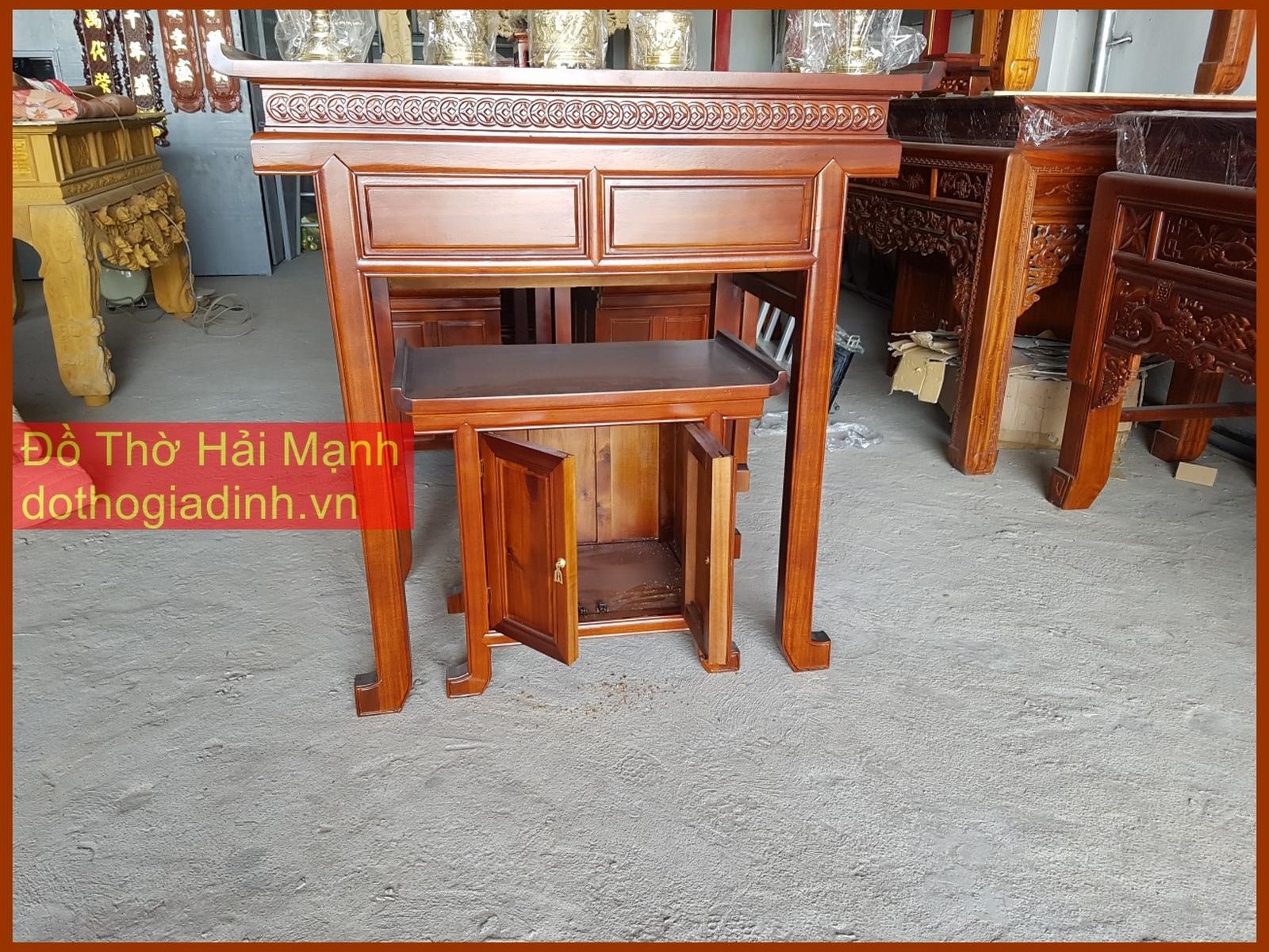 Bộ bàn thờ gia tiên nhà chung cư giá rẻ