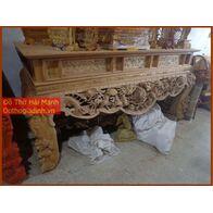 Sập thờ, bàn thờ chân quỳ gỗ gụ GT22HM01