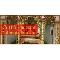 Cửa võng đẹp cho đình chùa, từ đường, gia tiên 1
