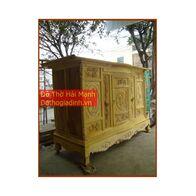 Tủ thờ gỗ mít kích thước 176