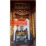 Bộ cửa võng đẹp cho đình chùa, từ đường, gia tiên 14
