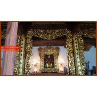 Bộ cửa võng đẹp cho đình chùa, từ đường, gia tiên 15