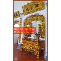 Bộ cửa võng đẹp cho đình chùa, từ đường, gia tiên 16