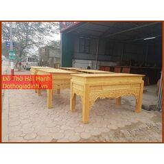 Bàn thờ triện gỗ mít 176