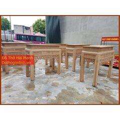 Bàn thờ triện 127 gỗ hương vân