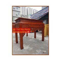 Bàn thờ triện gỗ hương vân 153