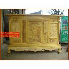 Tủ thờ gỗ mít kích thước 197