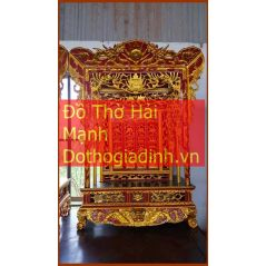 Khám thờ gia tiên mẫu Khám 70 gỗ vàng tâm
