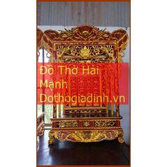 Khám thờ gia tiên mẫu Khám 60 gỗ mít