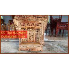 Khám gian thờ gỗ dổi (khám 90)