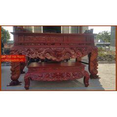 Sập thờ đẹp gỗ dổi DT22HM02