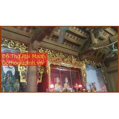 Khám thờ Mẫu đẹp