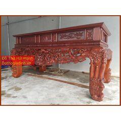 Sập thờ đẹp gỗ dổi DC22HM01