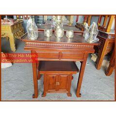 * Bộ bàn thờ gia tiên kèm tủ mẫu hiện đại 127 cho căn hộ bb2