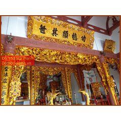Bộ cửa võng đẹp Cửu Long Tranh Châu