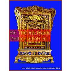 Khám thờ gia tiên mẫu Khám 60 gỗ vàng tâm