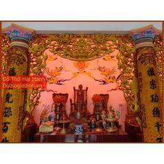 Cửa võng gỗ đẹp sơn son thếp vàng 11
