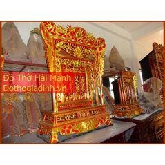 Khám thờ gia tiên mẫu Khám 70 gỗ mít