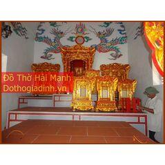 Khám thờ gia tiên mẫu Khám 60 gỗ dổi