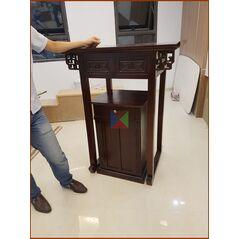 *** Bàn thờ chung cư Bộ bàn thờ kèm tủ mẫu hiện đại 127 cho căn hộ