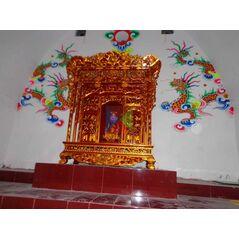 Khám thờ gia tiên mẫu Khám gian gỗ mít (khám 120)