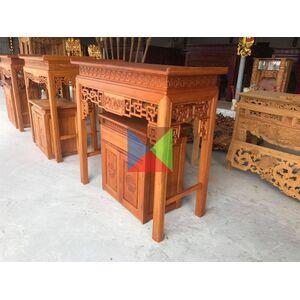 Bàn thờ hiện đại gỗ mít HM127M