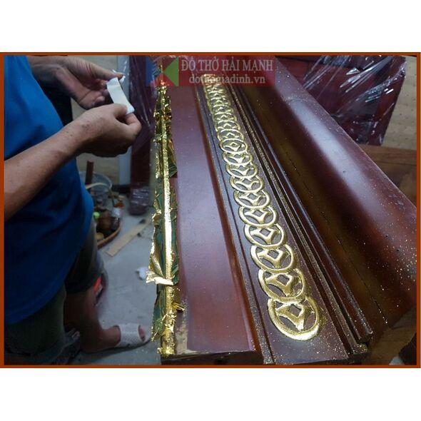Bàn thờ hiện đại đẹp kích thước 127 kèm tủ