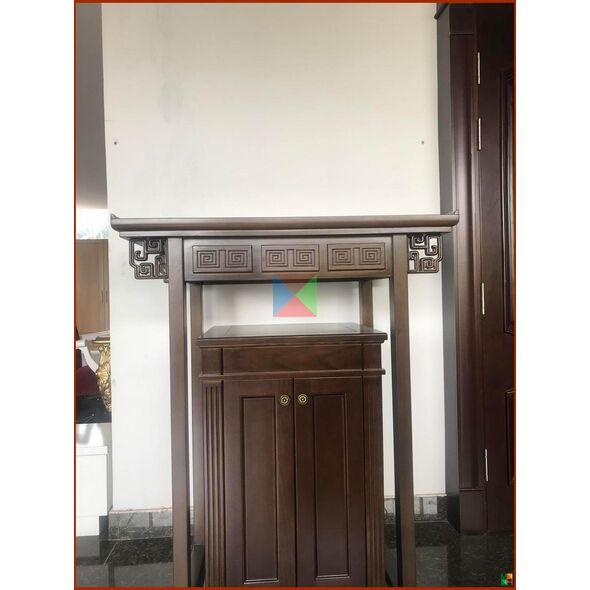 Bàn thờ hiện đại kèm tủ mẫu đẹp cho căn hộ chung cư